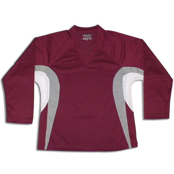 TronX DJ200 Team Hockey Jersey - Maroon