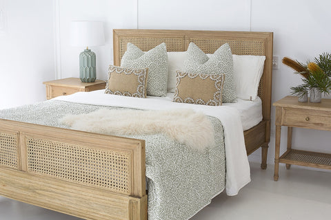 Coralie Bed in Natural