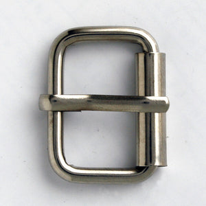 #0933 Nickel Finish Buckle 20mm