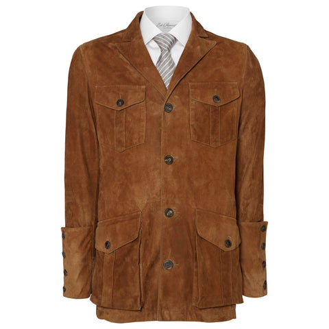Tan Berkeley Suede Jacket