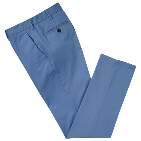 Blue Terrance Cotton Chino