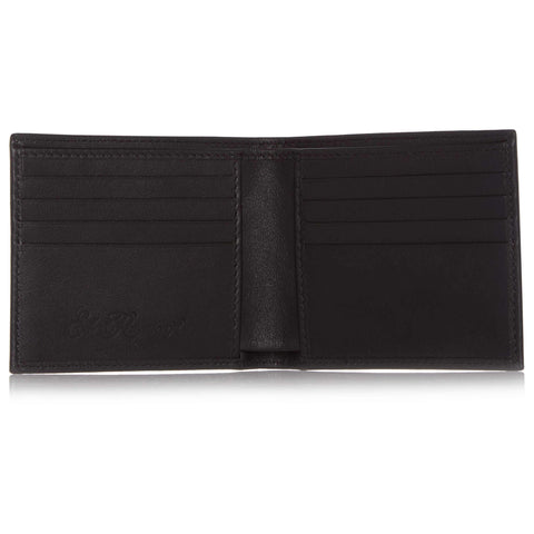 Black Soft Leather Eight Card Wallet