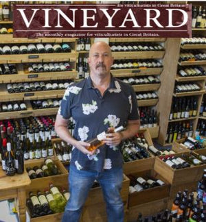 Henry Butler on English wines in Vineyard Magazine