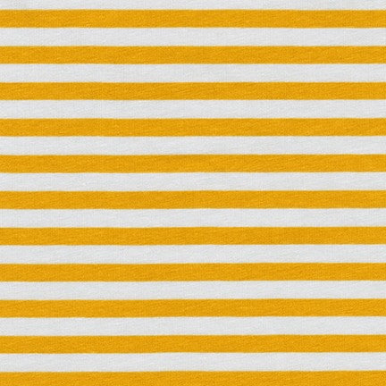 Carolyn Friedlander Blake - Stripe jersey knit in silver