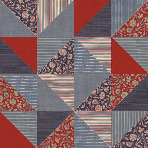 French General Big HST Quilt Kit