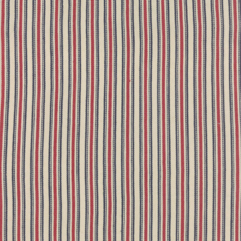 French General Vive La France - Texture Twill in Rouge