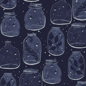 Trail Mix by Rae Ritchie - Mason Jars Navy