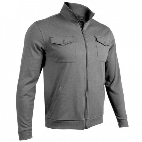 2UNDR 2-Pocket Zip Men's Jacket Grey/Grey