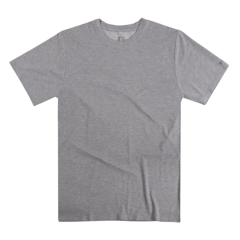 2UNDR Crew Neck Men's T-Shirt Grey
