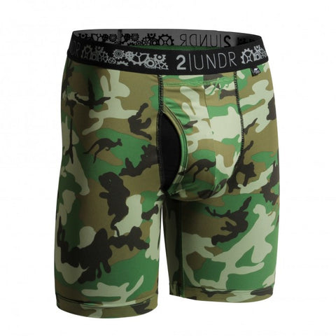 2UNDR Gear Shift Men's Underwear Woodland Camo