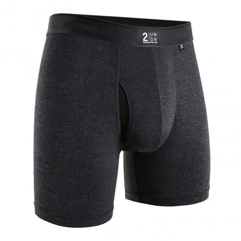 2UNDR Night Shift Men's Underwear Charcoal