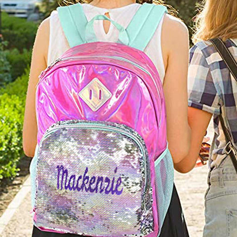 Magic Sequins Backpacks & Lunch Boxes