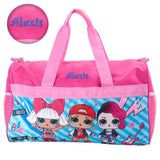 "Personalized LOL Surprise! Duffel Bag - 18"" - Pink and Blue"