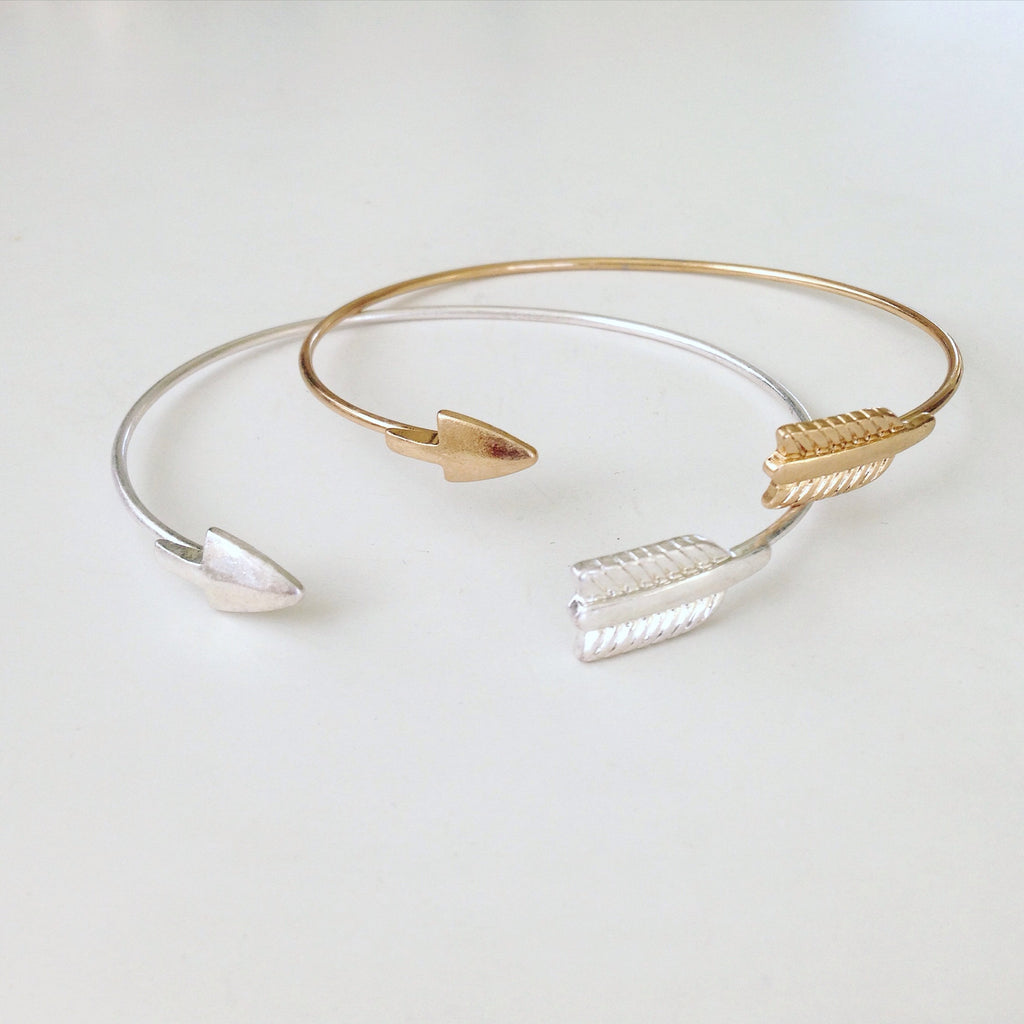 Matt Finished Arrow Bangle