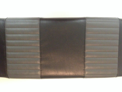 MARATHON EZ GO 1979-94 FRONT COVERS BLACK WITH CHARCOAL PLEAT