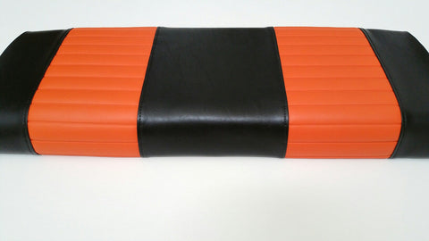 BLACK AND ORANGE FRONT COVERS CLUB CAR DS 3pc