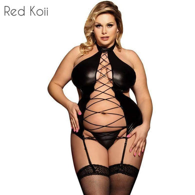 Hollow Out Bandage Nuisett Costume