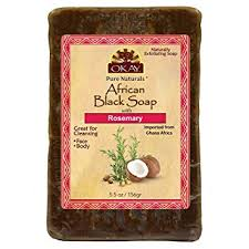 OKAY | African Black Soap with Rosemary