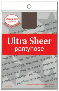 ANNIE ULTRA SHEER PANTYHOSE - QUEEN SIZE