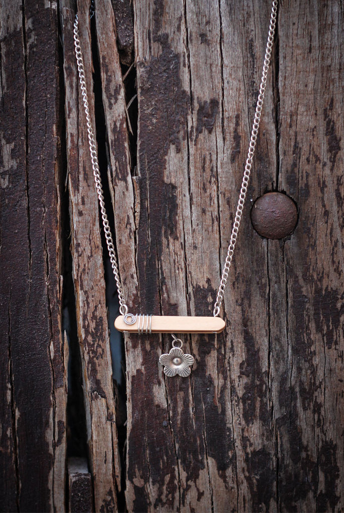 Peeking Blossom Necklace