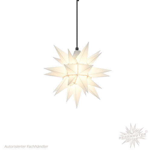 Herrnhut White Plastic Star, 40 cm. Outdoor
