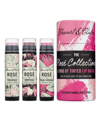 The Rosé Collection: Three Pink Tinted Lip Balms