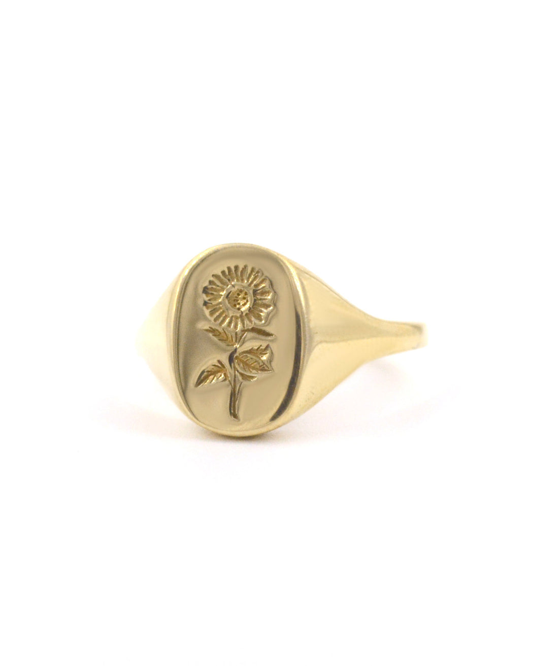 CLAUS:Sunflower Signet Ring,ANOMIE