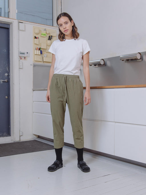 PRIORY:Yu Pant – Light Poplin,ANOMIE