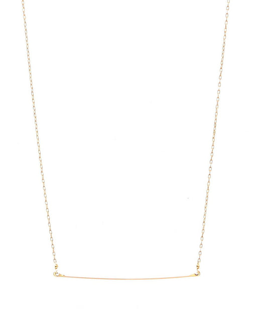 Minoux:Tiny Bar Necklace,ANOMIE