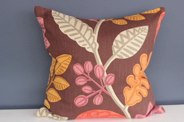 Autumn Leaves Cushion Cover - 45cm x 45cm
