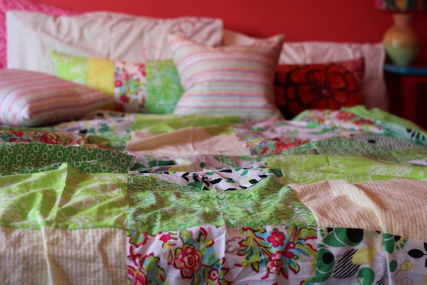 Duvet Covers in Greens