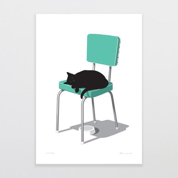 Nap Time by Glenn Jones - A4 Print