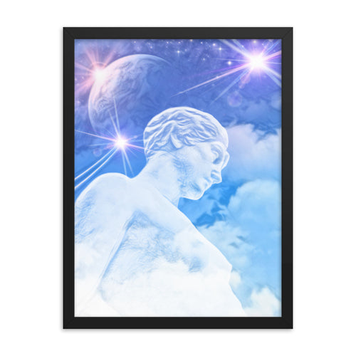 THE ENLIGHTENMENT - Framed photo paper poster