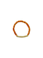 Good Vibes Gold Bar Bracelet