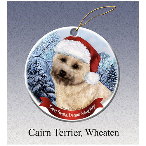 Cairn Terrier Howliday Dog Christmas Ornament
