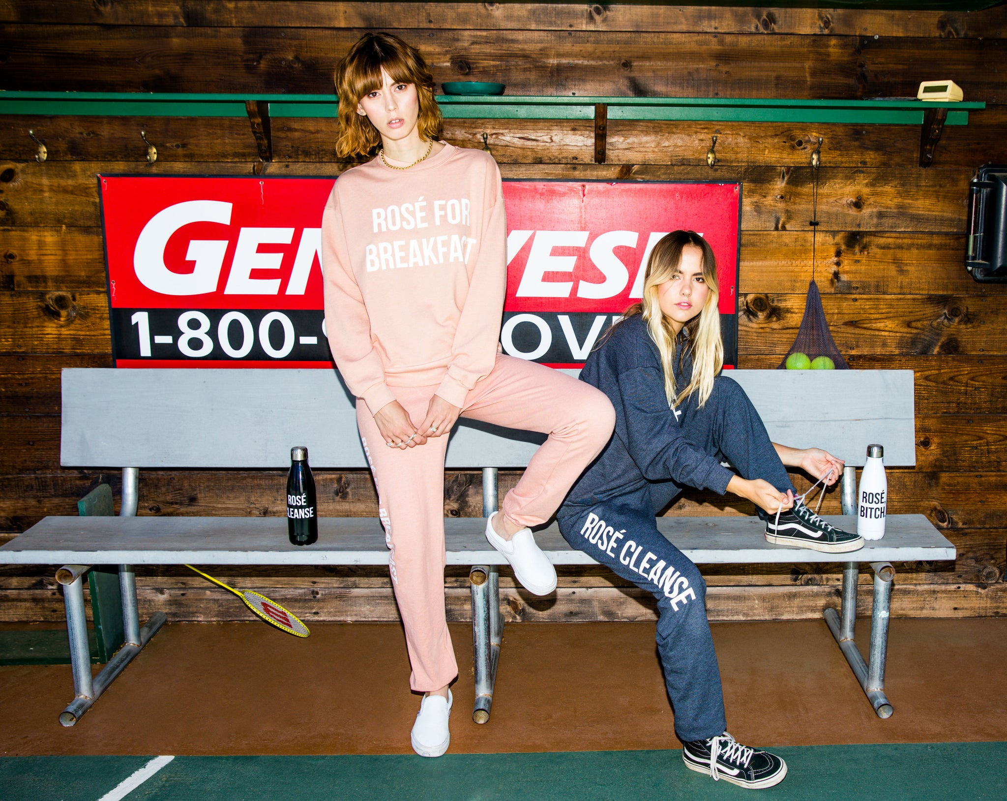 ROSÉ CLEANSE [WOMEN'S SWEATPANTS]
