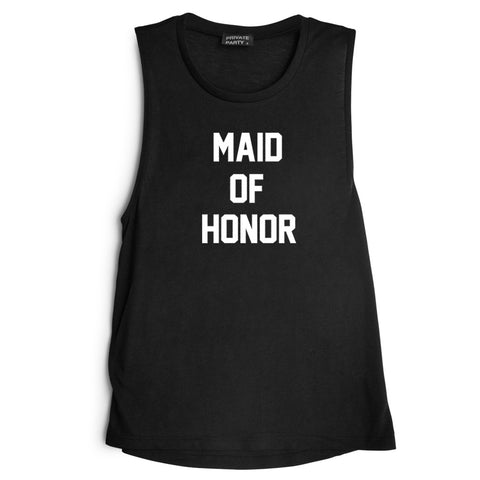 MAID OF HONOR  [MUSCLE TANK]