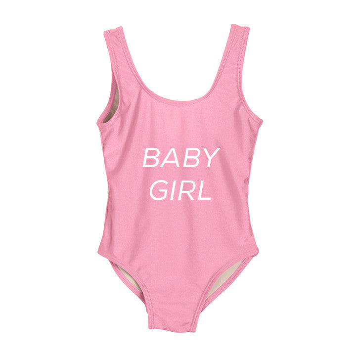 BABY GIRL [KIDS ONE PIECE SWIMSUIT]