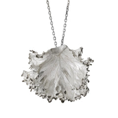 Curly Kale Necklace - Joan Hornig Jewelry