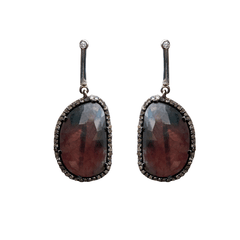 Georgie Sapphire Earrings - Joan Hornig Jewelry