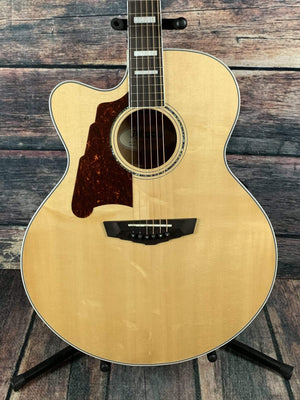 D'Angelico Acoustic Guitar D'Angelico Left Handed Premier Madison Jumbo Acoustic Electric Guitar