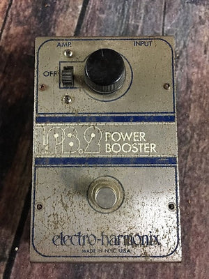 electro-harmonix pedal Used Electro-Harmonix 70's LPB-2 Linear Power Booster Pedal