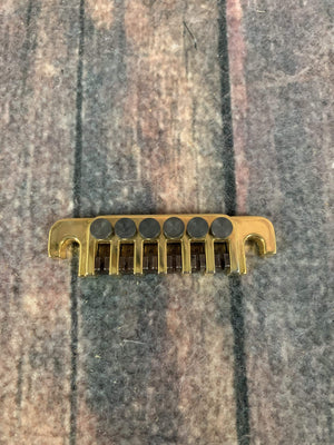 Gibson Electric Guitar Gibson TP-6 Fine Tuner Tailpiece- Gold
