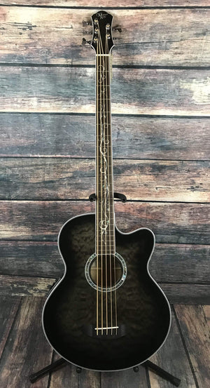Michael Kelly Acoustic Electric Bass Acoustic Bass Only Michael Kelly Right Handed Dragonfly 5 Fretted Acoustic Electric Bass