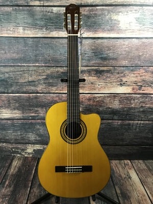 Oscar Schmidt Classical Guitar Guitar Only Oscar Schmidt OC11CE Acoustic Electric Classical Guitar