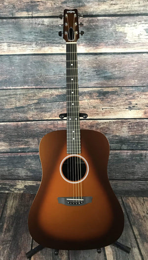 RainSong Acoustic Guitar Includes a hard shell case Rainsong Left Handed H-DR1000N2T Acoustic Electric Guitar- Tobacco Burst