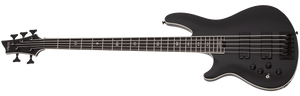 "Schecter Electric Bass Schecter Left Handed SLS Elite-5 ""Evil Twin"" 5 String Electric Bass #1397"