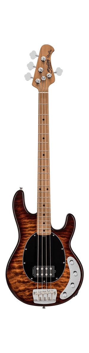 Sterling by Music Man Electric Bass Sterling by Music Man StingRay Ray34QM- Island Burst