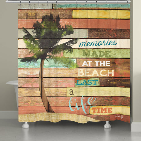 Beach Memories Shower Curtain