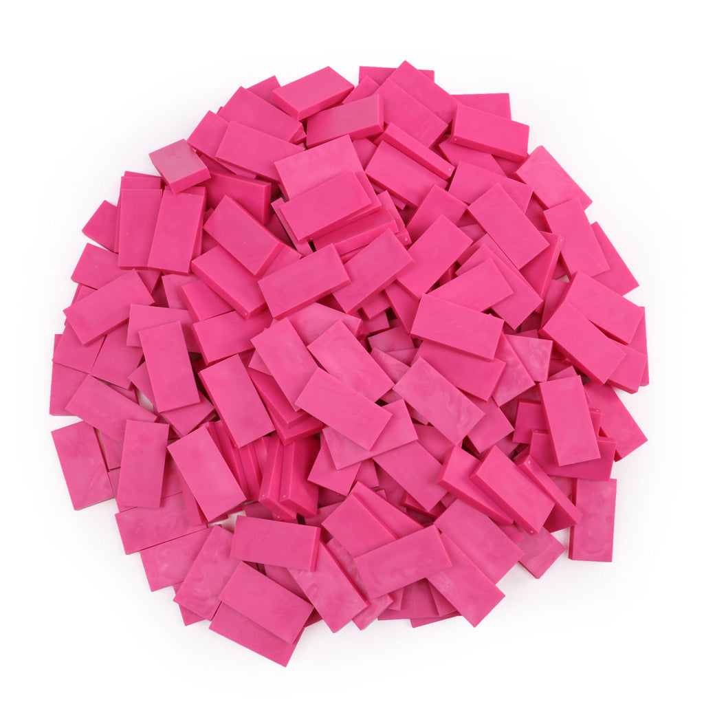 Bulk Dominoes - Bubblegum Pink